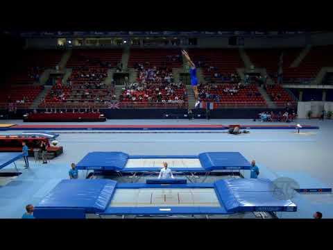 LUCIANI Stefano (ITA) - 2017 Trampoline Worlds, Sofia (BUL) - Qualification Trampoline Routine 2