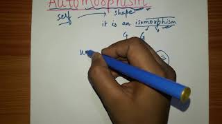 Automorphism   Beauty Of Automorphism  Application Of Automorphism.