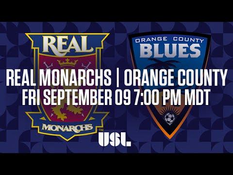 WATCH LIVE: Real Monarchs SLC vs Orange County Blues FC 9-9-16