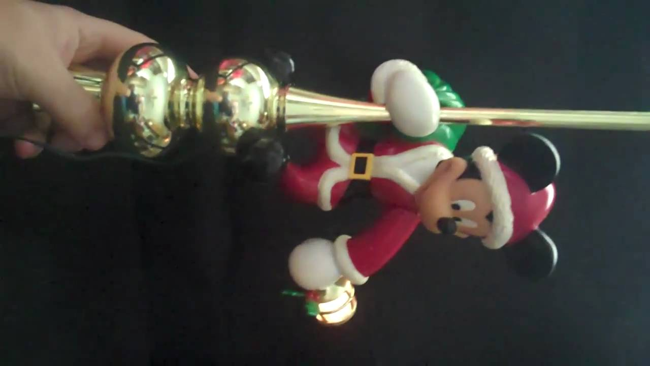 Mr. Christmas Mickey Tree Topper On Ebay For Sale