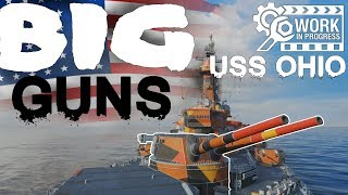 USS OHIO - Big GUNS + Secondaries 270K DMG || World of Warships