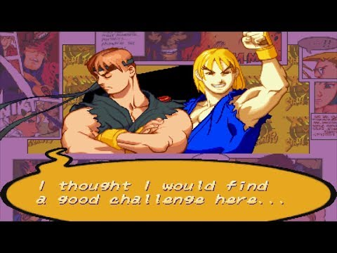 X-Men VS Street Fighter - Ryu/Ken - Expert Difficulty Playthrough
