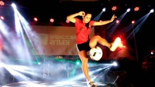 Raquel Benniti freestyle show in Bekasi-Indonesia