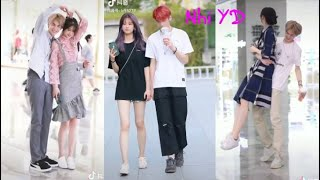 抖音| Đại Thí Thí - Hạ Duệ Hàm | Fashion couple on street