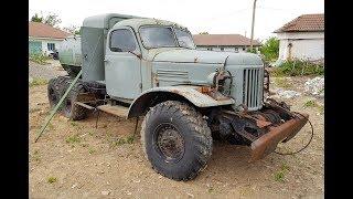 Old Russian ZIL-157 Truck
