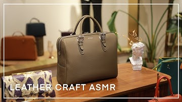 [ASMR] 보스턴백 만드는 소리 _특별한 주문제작 the sound of making a Boston bag _Special order production
