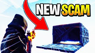 *NEW SCAM* Floating Trading Box Scam! Scammer Gets Exposed In Fortnite Save The World