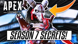 All LEAKED SECRETS Revealed For SEASON 7 of Apex Legends! (New Legend, New Map & MORE!)