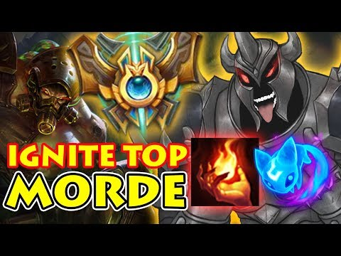 HOW TO DEAL WITH IGNITE MORDE TOP | CHALLENGER ELO TRYN VS MORDEKAISER [Patch 8.3]