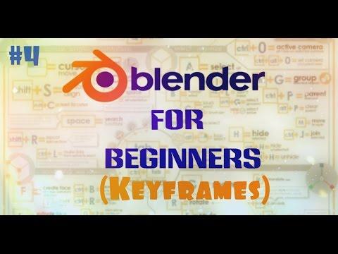 Blender основы: Как создать ключевой кадр?