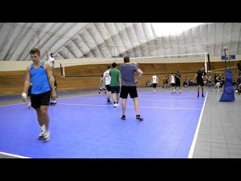 Vancouver Volleyball Thursday Mens League 2016-01-14 Court 1