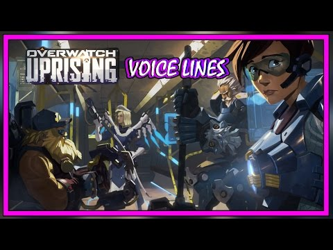 Overwatch - Uprising All Voice Lines