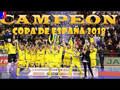 Jogo Completo Inter Movistar 3 x 4 Jaén Paraíso - FINAL Copa da Espanha de Futsal 2018