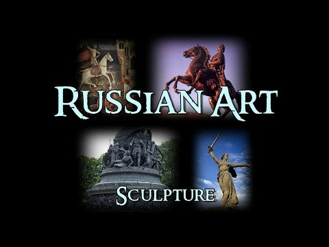 Russian Art - 8 Sculpture