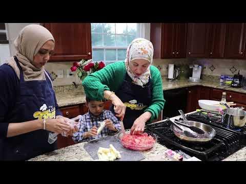 HOW TO MAKE ARAB SPECIAL DESSERT KANAFEH!