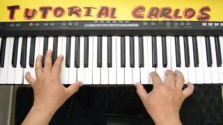 Libre Soy Barak ft. Alex Campos Piano Tutorial Carlos