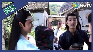 The Untamed【BTS】——The secret of how does Xiao Zhan and Wang Yi Bo do to kill the boring time