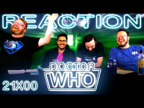 """Classic Doctor Who 21x0 REACTION!! """"The Five Doctors"""""""