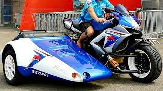 сумаСшедшие Мотоциклы с Колясками !