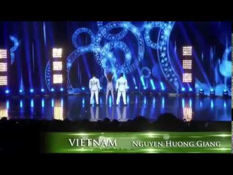 Hương Giang Idol hát bốc lửa giải nhất thi tài năng tại Hoa hậu chuyển giới 2018