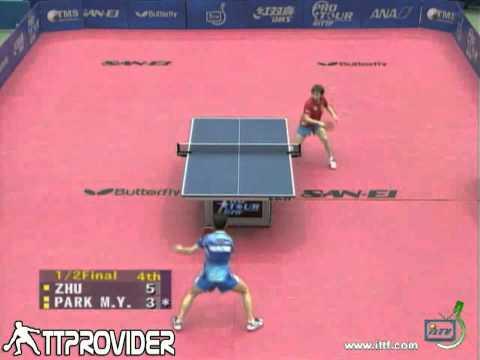 Japan Open 2010  Zhu Yuling Park Mi Young