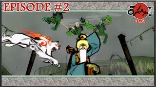 Okami HD - The Powers Of The Brush, Cleansing Kamiki Village - Episode 2