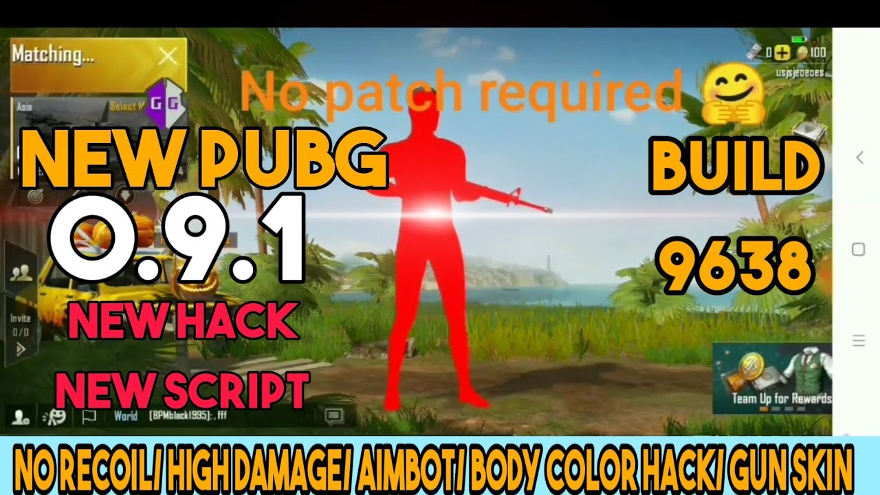 PUBG NEW 9638 HACK/ ANTIBAN/NEW PUBG APK