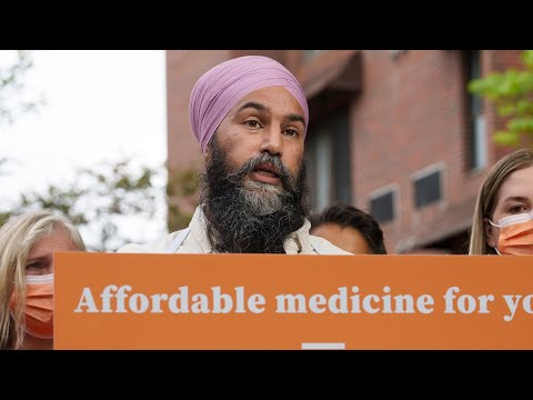 NDP Leader Singh pledges universal pharmacare plan