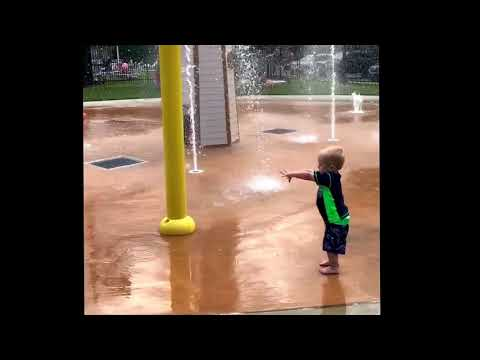 The force is strong with this toddler