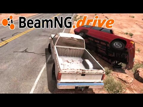 UPDATE 0.8! New Rocky Start Scenario + Completing the Challenges - BeamNG.Drive Gameplay Highlights