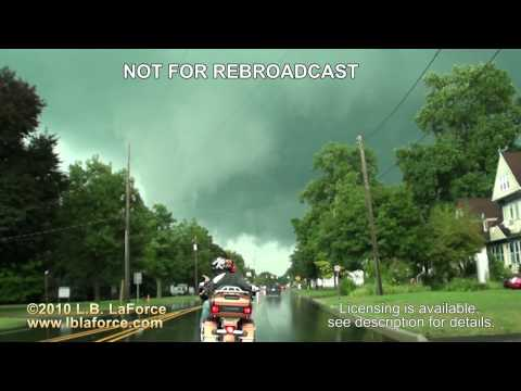 Allegan, MI Severe Storm July 18th, 2010