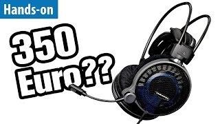 Gaming-Headset für 350 Euro - Audio Technica ATH-ADG1x im Hands-on | deutsch / german