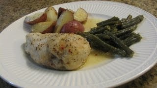 Chicken, Potato And Green Bean Bake -- Lynn's Recipes One Dish Meal
