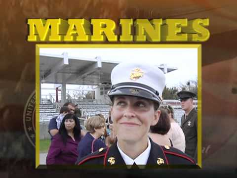 USMC Parris Island Graduation March 9th 2012 of Denzel Ernst Part 3 of 3