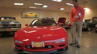 1993 RX-7 Turbo for sale with test drive, driving sounds, and walk through video