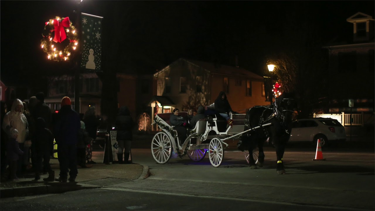 WATCH: Mount Morris welcomed the Christmas season on Saturday with its 12th annu…