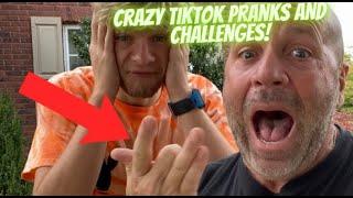 CRAZY TIKTOK PRANKS AND CHALLENGES!