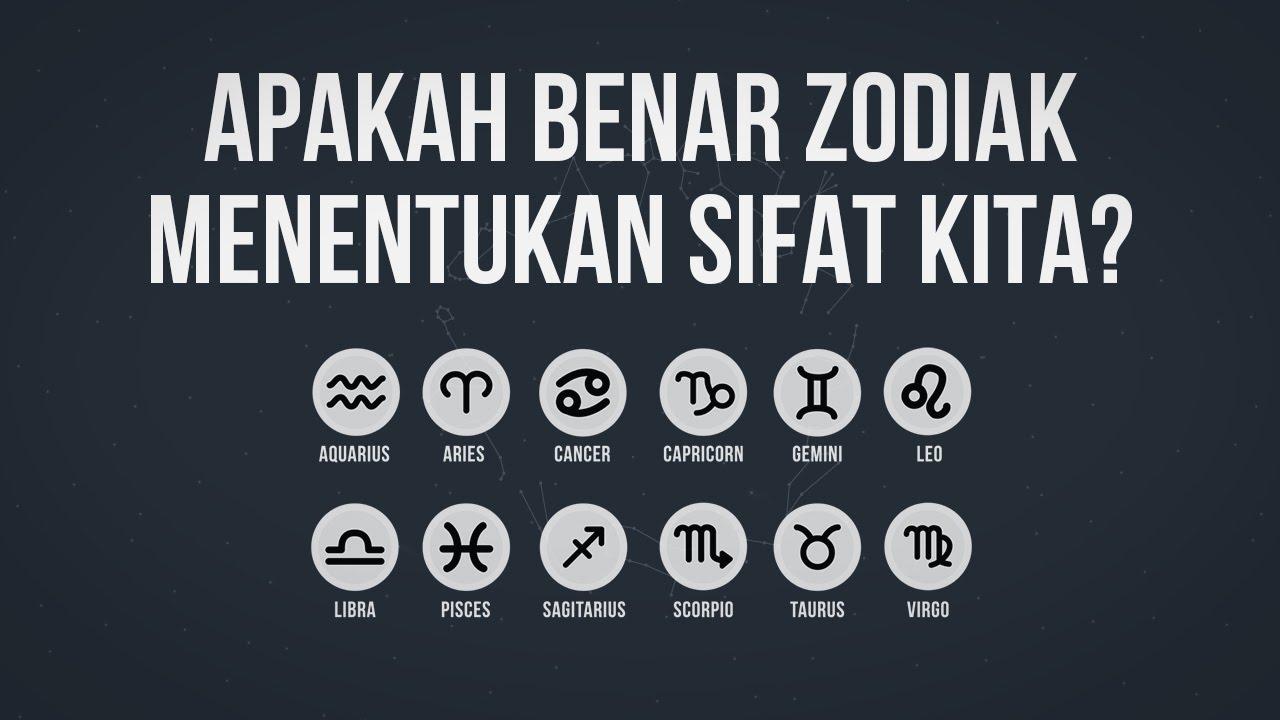 Apakah Benar Zodiak Menentukan Sifat Kita?