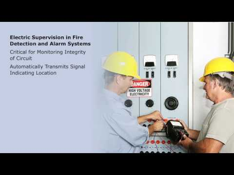 Electric Fire Alarm System Components