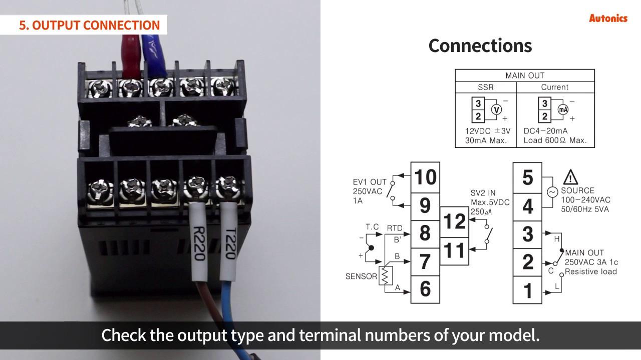 Autonics Tutorial : Temperature Controllers TZN  TZ