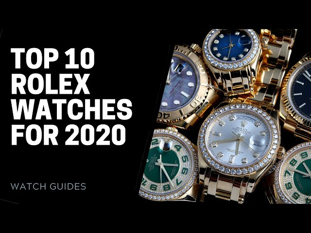 Best Rolex Watches - Top 10 in 2020 | SwissWatchExpo