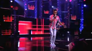 IdolsSA with Sonke_13 contestant singing Jik