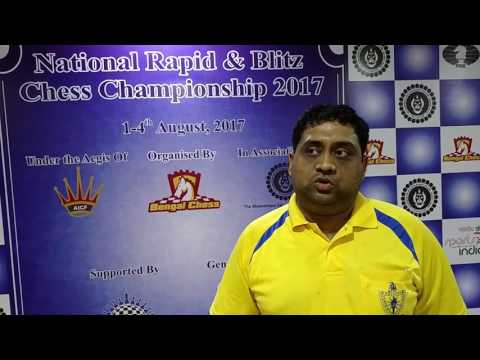 Interview with GM R R Laxman after winning National Blitz Chess Championship 2017