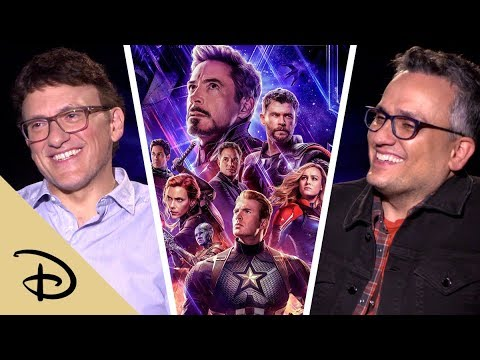 Anthony and Joe Russo Assign Senior Superlatives to The Avengers | Disney