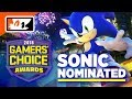 #Sonic the Hedgehog NOMINATED for Fan Favorite Retro Character in the #GamersChoiceAwards!