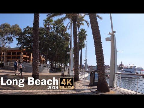 Long Beach Walking Tour, Part 1 2019 4K
