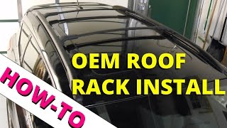 how to install oem ford escape roof rack how to escape
