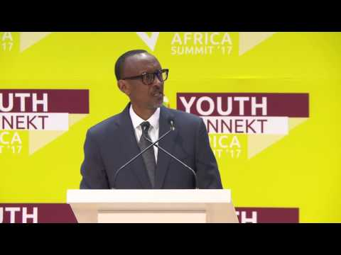 Presindets Kagame speaks at YouthConnekt Africa Summit 2017 | Kigali, 21 July 2017