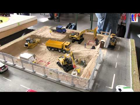 **HUGE** CONSTRUCTION SCALE MODELS EXHIBIT / Mini-Bauma, Sinsheim, Germany, 2014.