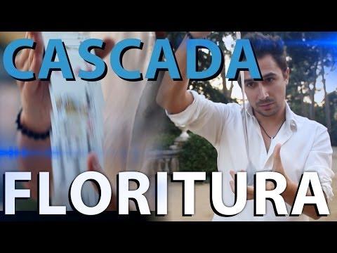 Trucos con Cartas Tutorial (florituras con cartas), LA CASCADA, Trucos de Cartas y Floritura